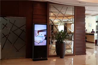 Digital signage in Oman outlet