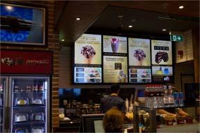 Digital Signage restaurant digital menu board